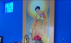 从图中可看到,盂兰盆供品直接就供佛供准提菩萨受用