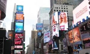 纽约时代广场-户外LED广告屏